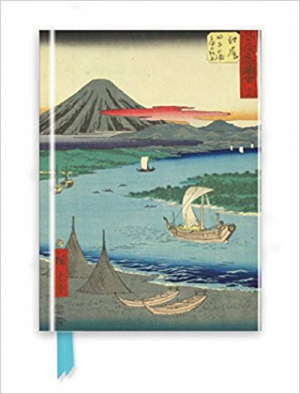 Horishige: Mount Fuji (Foiled Journal) (Flame Tree Notebooks)