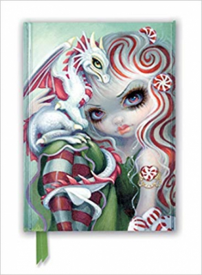Jasmine Becket-Griffith: Peppermint Dragonling (Foiled Journal) (Flame Tree Notebooks)