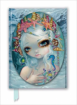 Jasmine Becket-Griffith: Seashell Princess (Foiled Journal) (Flame Tree Notebooks)