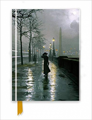 London by Lamplight (Foiled Journal) (Flame Tree Notebooks)