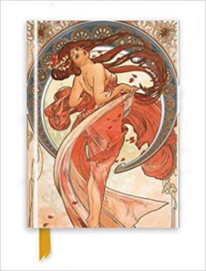 Mucha: The Arts, Dance (Foiled Journal) (Flame Tree Notebooks)