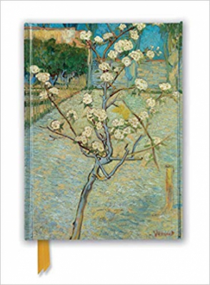 Vincent van Gogh: Small Pear Tree in Blossom (Foiled Journal) (Flame Tree Notebooks)