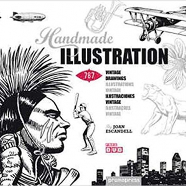 Handmade Illustration: 1,000 Retro-Style Drawings