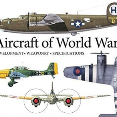 Aircraft of World War II: Development, Weaponry, Specifications (Landscape Pocket)