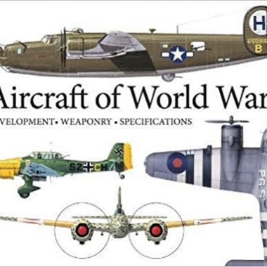 Aircraft of World War II: Development, Weaponry, Specifications (Landscape Pocket)