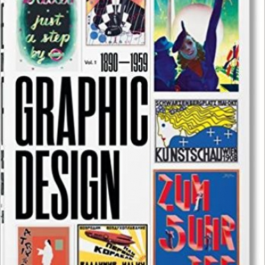 History of Graphic Design: Vol. 1, 1890-1959 (Multilingual Edition)