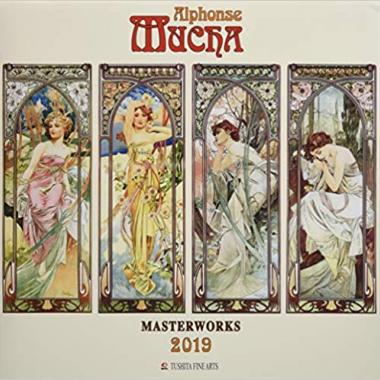 Календарь Alphonse Mucha - Masterworks 2019