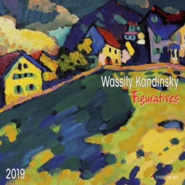 Wassily Kandinsky - Figuratives 2019 Calendar