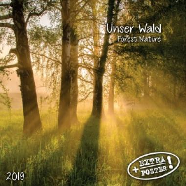 Calendar Forest Nature/Unser Wald 2019