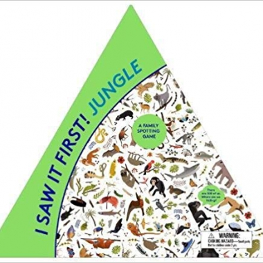 I Saw It First! Jungle: A Family Spotting Game (Magma for Laurence King) Game
