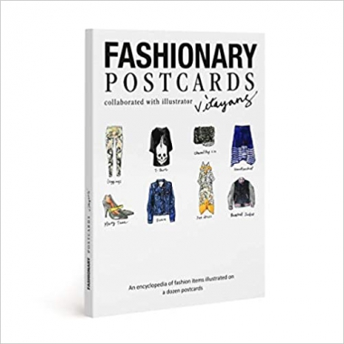 Fashionary Postcards: Illustrated By Vita Wang