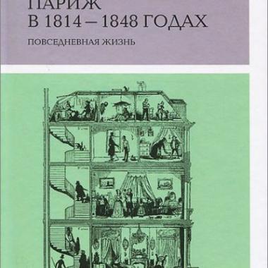 КП. Мильчина В. Париж в 1814-1848: повседневная жизнь