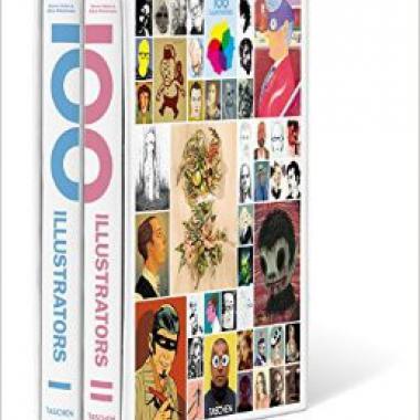 100 Illustrators (комплект из 2 книг)