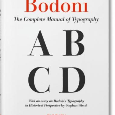 Bodoni. Manual of Typography