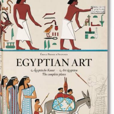 Émile Prisse d'Avennes. Egyptian Art