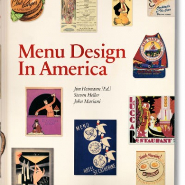 Menu Design in America, 1850-1970